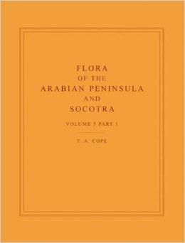 Flora of the Arabian peninsula and Socotra. Volume 5, Part 1
