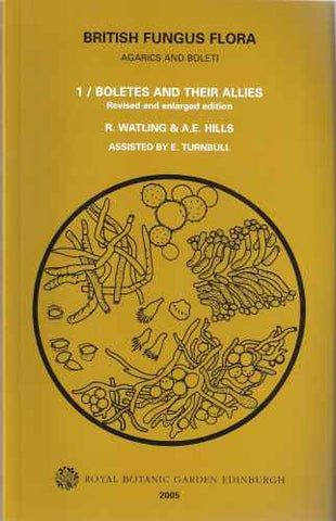 British fungus flora: Agarics and Boleti (9-volume set)