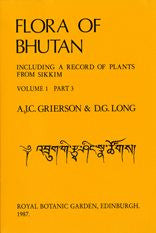 Flora of Bhutan: including a record of plants from Sikkim and Darjeeling (9 Volumes)