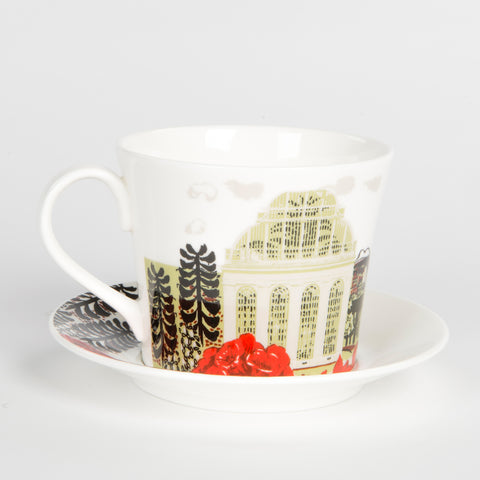 Breakfast Cup and Saucer - Palm House design