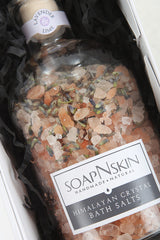 Luxury Himalayan Bath Salts Gift