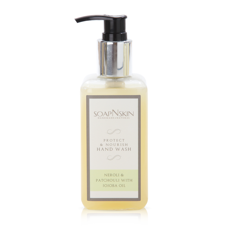Sulphate free Neroli & Patchouli Castile Hand wash