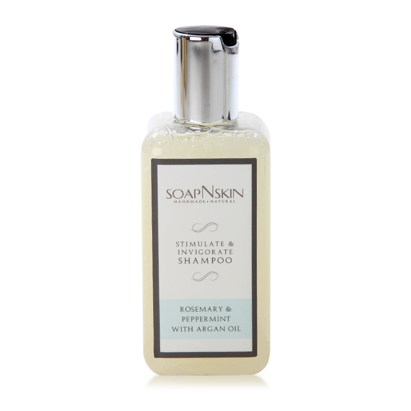 Sulphate free rosemary & peppermint with argan oil natural shampoo