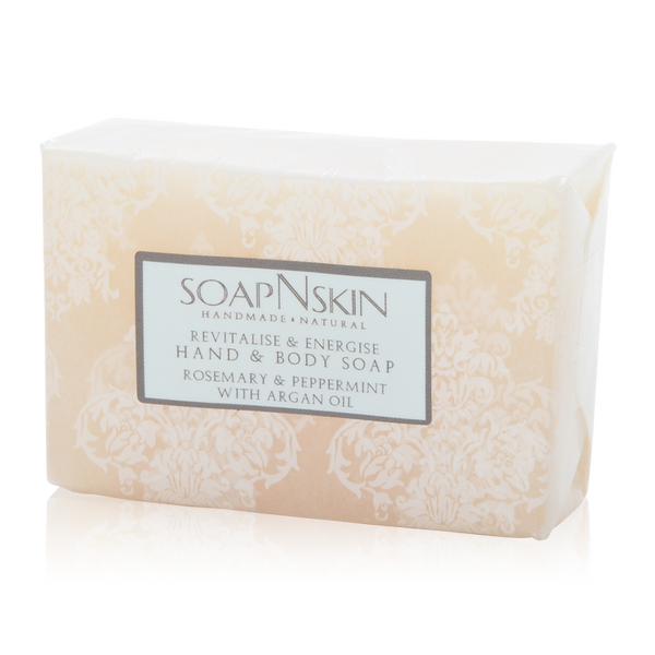 Rosemary & Peppermint with Argan Oil Hand & Body Soap