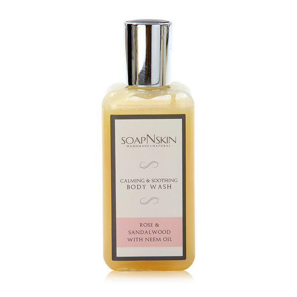 Rose & Sandalwood with Neem Oil Body Wash
