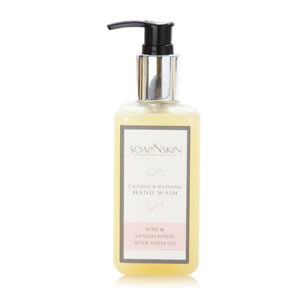 Rose & Sandalwood with Neem Oil Handwash