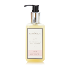 Sulphate free Rose & Sandalwood Castile Hand wash with Neem Oil