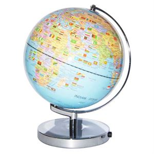 Flag LED World Globe Lamp