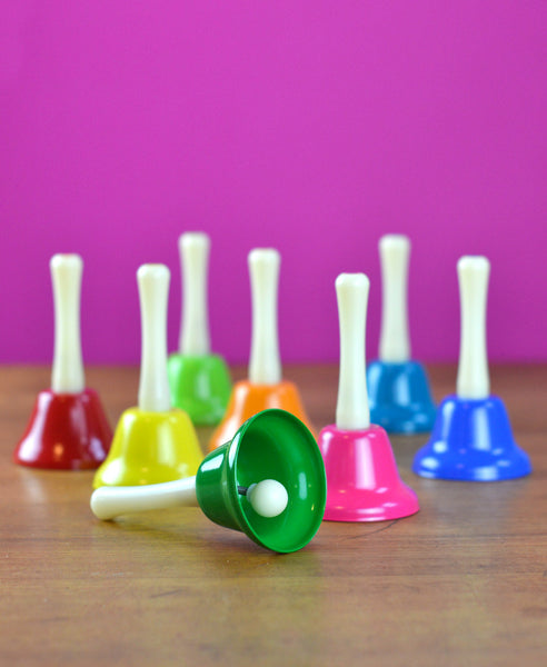 Rainbow Musical Hand Bells - 8 Piece Set
