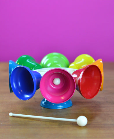 Rainbow Spinning Bells