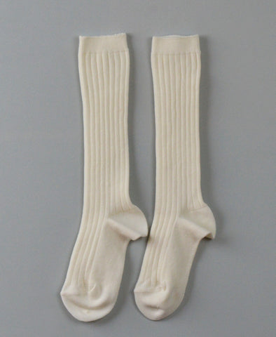 Condor Knee Hi Ribbed Sock (#303 Cava Cream)
