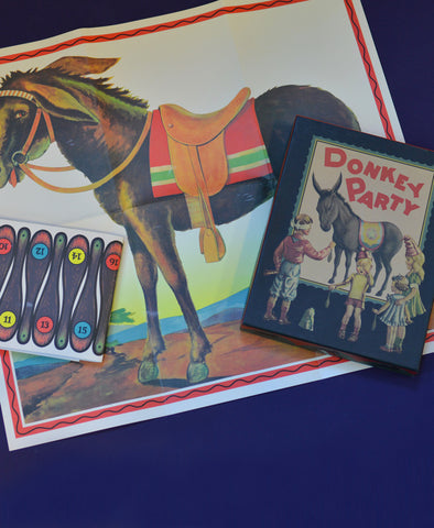 Knox and Floyd Donkey Party Game - Pin the Tail on the Donkey