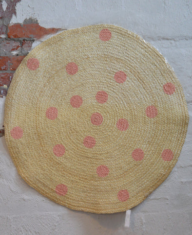 Little Zaza, Pink Dot Kids Rug
