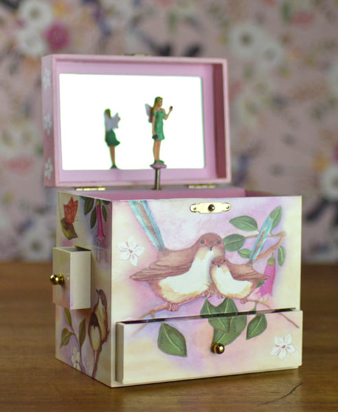 Enchantmints Sweet Fairy Wrens Treasure Box