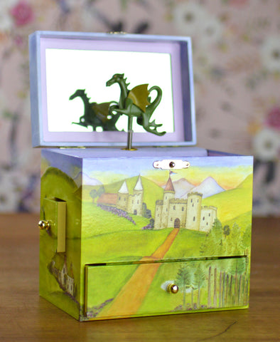 Enchantmints Dragon Castle Treasure Box