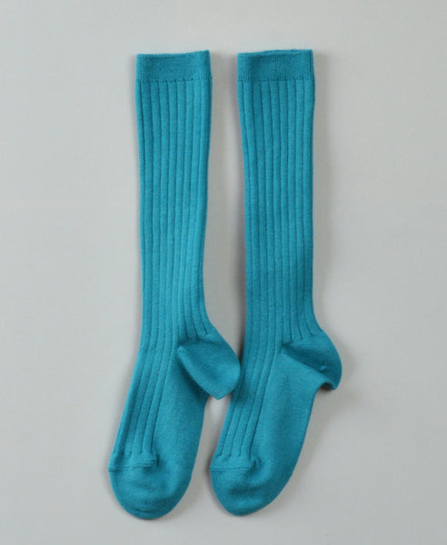 Condor Knee Hi Ribbed Sock (#463 Capri)