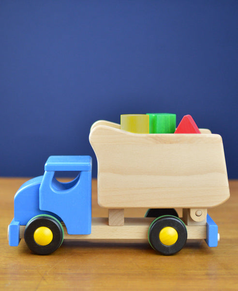 Bajo Tip Truck with Sorter - Coloured