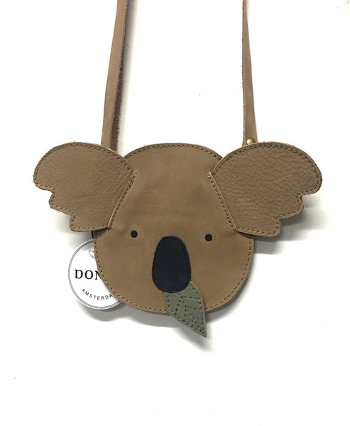 Donsje Britta Bag Koala (Leather Brisque): Medium
