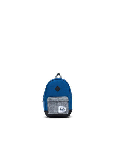 Herschel Heritage Mini Backpack Monaco Blue/Black/Raven Crosshatch