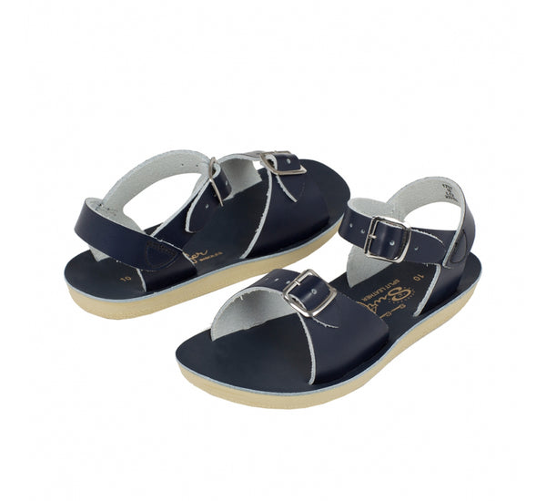 Salt Water Sun San Surfer Childs Sandal - Navy