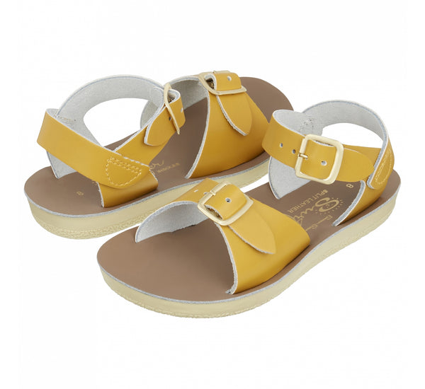Salt Water Surfer Childs Sandal Mustard