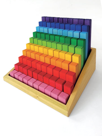 Bauspiel Stepped Colour Blocks
