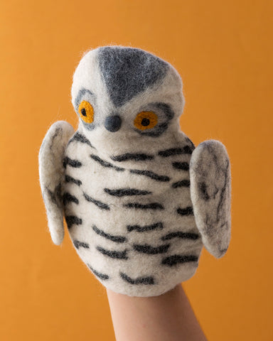 Papoose Hand Puppet Owl