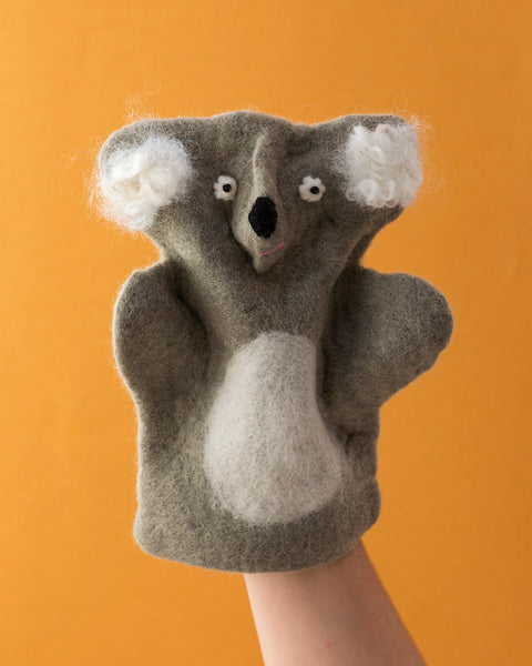 Papoose Hand Puppet Koala