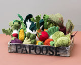 Papoose Vegetable Set in Crate