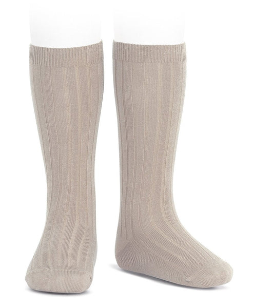 Condor Knee Hi Ribbed Sock (#334 Piedro)