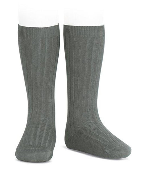 Condor Knee Hi Ribbed Sock #761 Lichen)