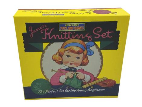 Retro Range Junior Knitting Set