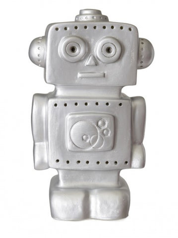 Heico Robot Night Light Lamp - Silver LED