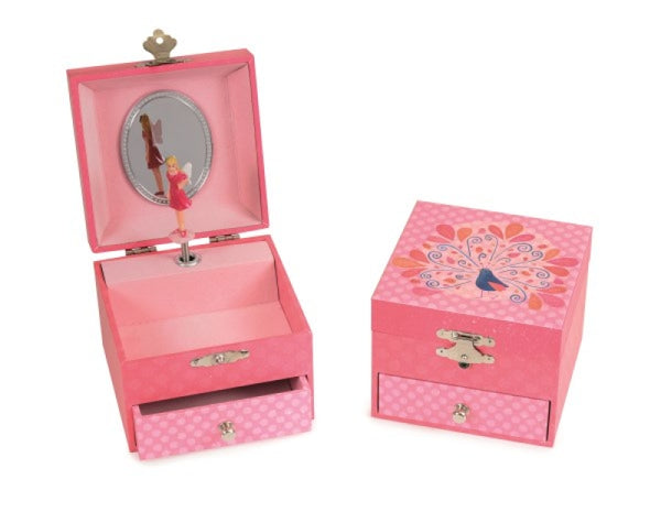 Egmont Peacock Jewellery Music  Box