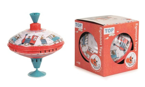 Egmont Large Train Spinning Top