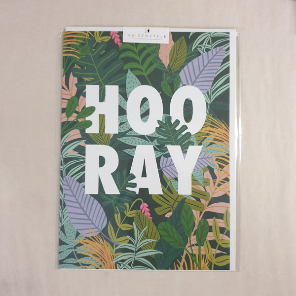 KaiserStyle Wild Hooray Card
