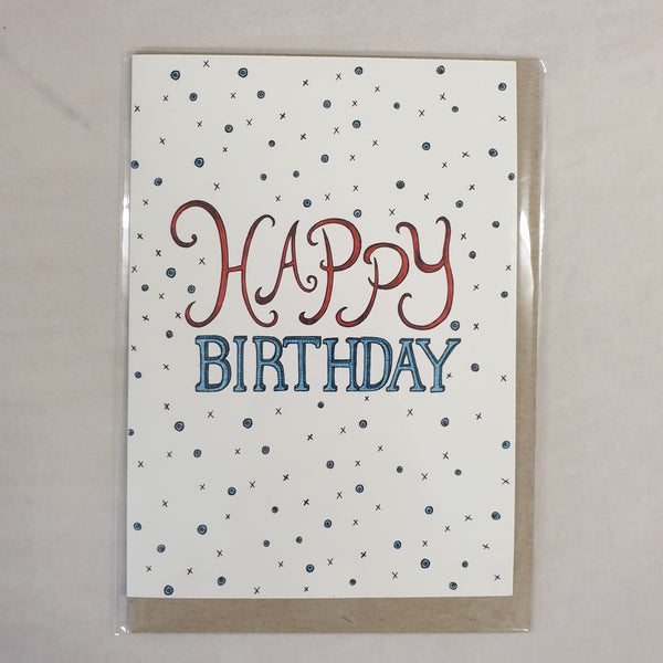 The Nonsense Maker Happy Birthday Card