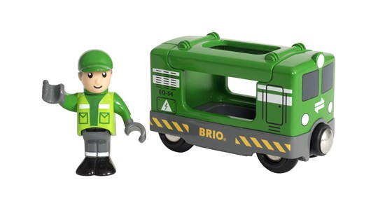 Brio Vehicle Cargo Engine with Driver