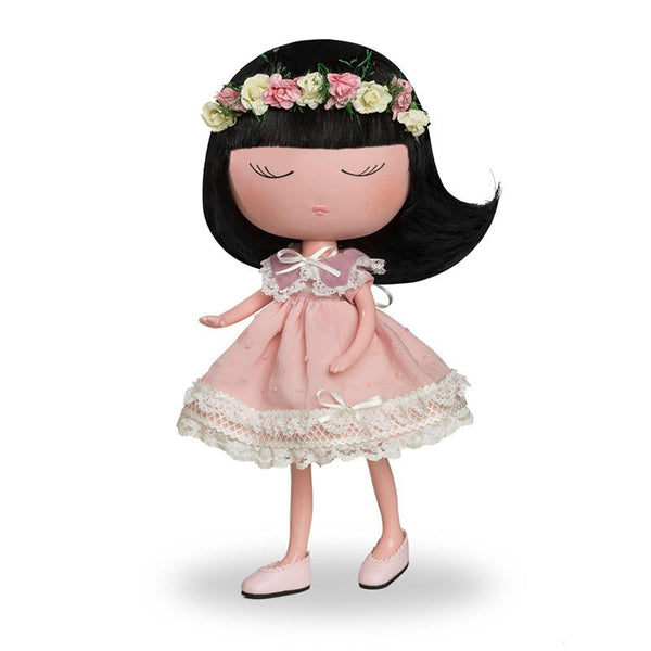 Anekke Love to Share Jade Nature Doll Pink