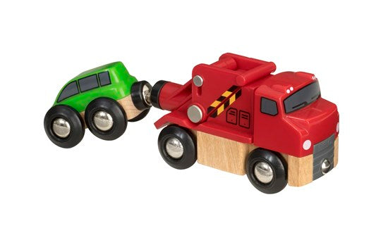 Brio Vehicle Tow Truck and Car