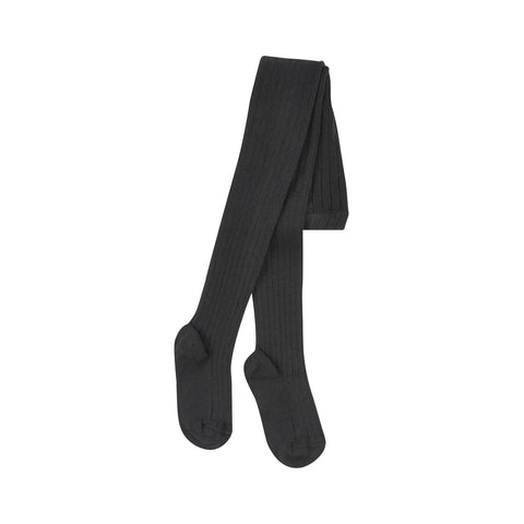 Condor Ribbed Tights (#900 Black)