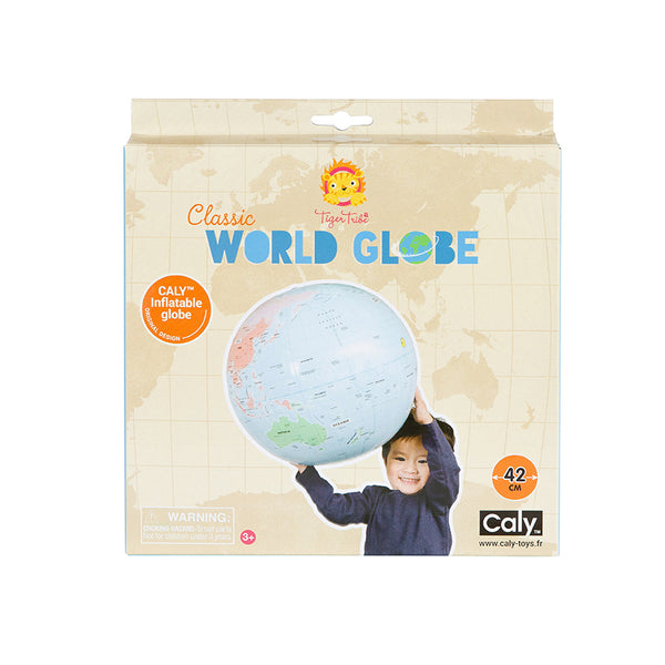 Tiger Tribe World Globe - Inflatable - 42cm