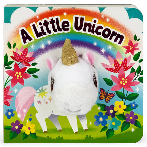 A Little Unicorn Finger Puppet Board Book