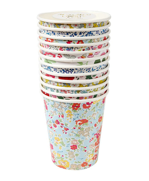 Meri Meri Assorted Liberty Party Cups (12 Set)