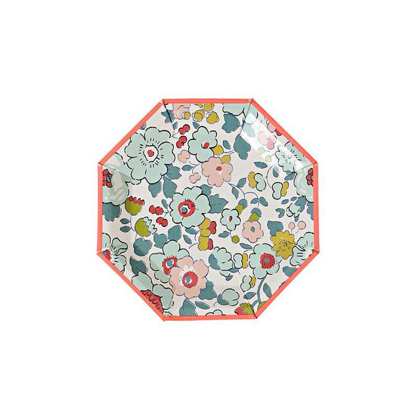 Meri Meri Assorted Liberty Mini Plates - 12pack