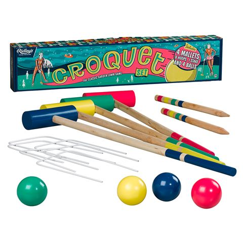 Ridley's Croquet Set