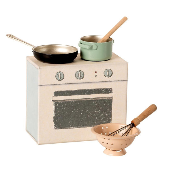 Maileg Miniature Cooking Set