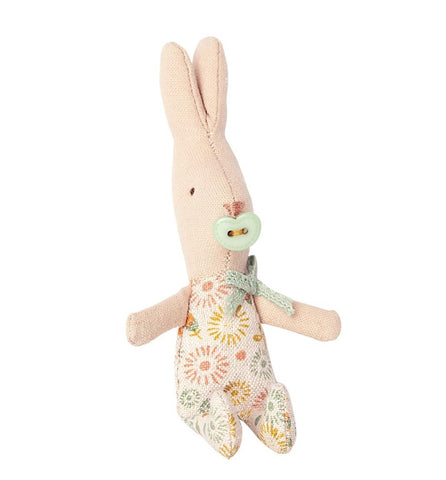 Maileg Rabbit My Baby Boy Peach Floral
