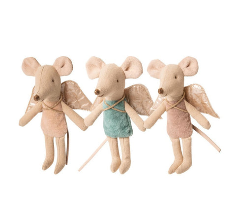 Maileg Little Sister Fairy Mouse Assorted