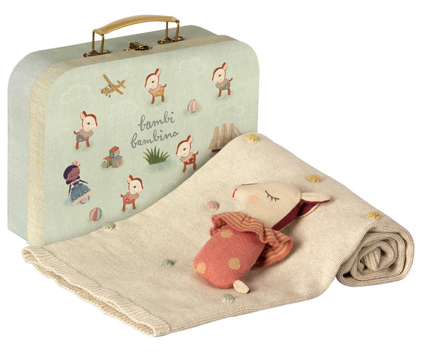 Maileg Bambi Gift Set Rose